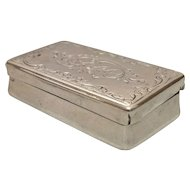1830 Silver Vinaigrette
