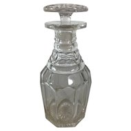English Cut Crystal Decanter