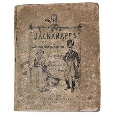 Juliana Horatia Ewing's Jackanapes, Victorian Children's Book, 1885