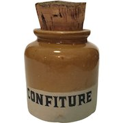 Vintage French Sugar (Confiture) Jar