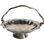 1923 Bon Bon Silver Plated Dish