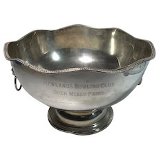 English Silver Plated Bowl
