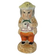 English Luster Ware Toby Pepper Pot