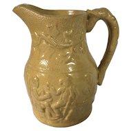 C.1830-1840 English Yellow Ware Jug
