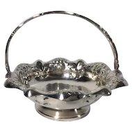 Vintage Silver Plated Bon Bon Basket