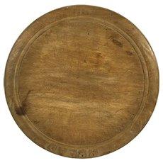English Vintage Bread Board