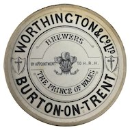 English 1875 Minton 'Coaster'
