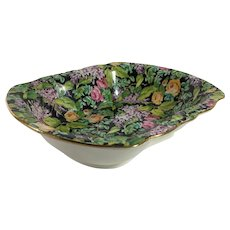 English Chintz Bon Bon or Pin Dish, 'Lord Nelson Pattern