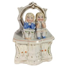 C.1890 Dresser Box Fairing with Children Sitting on Boxes