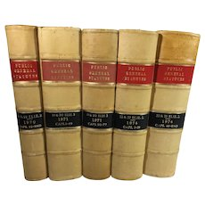 Law Books: English: The Public General Acts and Church Assembly Measures, c. 1971