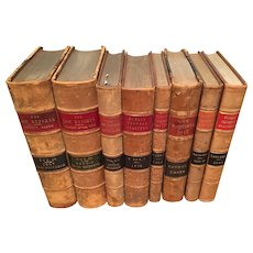 Law Books: 9 Volumes of The Law Reports, English, 1867 - 1943