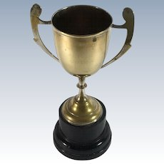 Silver Plate Brass Trophy: Best Adult Female Lilac Burmese (Cat)