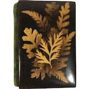 English Fern Ware Booklet. C. 1850-1900