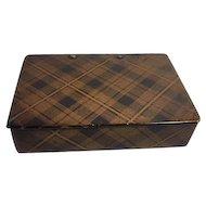 Tartan Ware Small Box