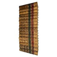 16 Volumes of the Works of English Novelist Anthony Trollope, 1874