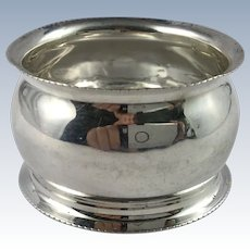 1911 English Sterling Silver Napkin Ring