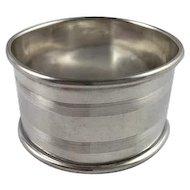 1925 Sterling Silver Napkin Ring