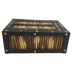 Porcupine Victorian Quill Box