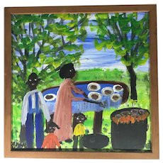 Barbecue by Alyne Harris, 20th Century