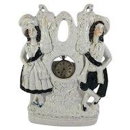 Staffordshire Figurine Watch Holder, c. 1860-1880