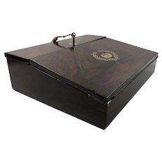 George III C. 1815 Rosewood Lap Desk