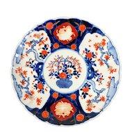 Japanese  Imari Charger, Floral Urn