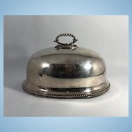 English Silver Plate Food Dome, Elkington & Co