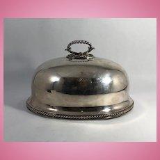 English Silver Plate Food Dome, Elkington & Co