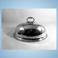 English Silver Plated Food Dome, Elkington & Co.