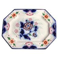 C. 1840-1860 Gaudy Welsh Platter