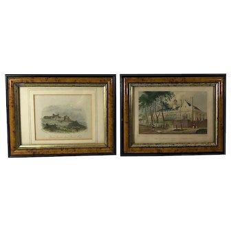 Pair of Framed English Prints