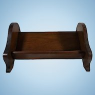 English Mahogany Table Top Book Stand