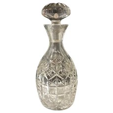 Antique Cut Glass Decanter