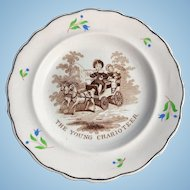 C. 1830 Child's Plate