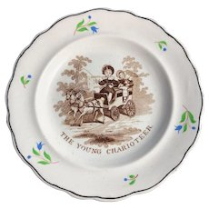 C. 1830 Child's Plate
