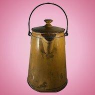 English Toleware Coffee Pot