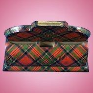 Scottish Tartan 'Stuart' Rare Desk Item