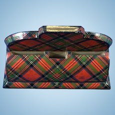 Scottish Tartan 'Stuart' Rare Desk Item