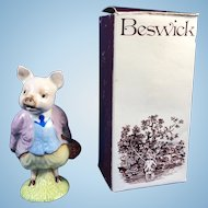 Beatrix Potter's Pigling Bland Figurine & Box