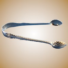 Sterling Silver English Sugar Tongs