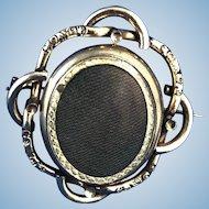 English Victorian Swivel Brooch