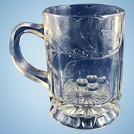 Bryce Brothers Toy Glass Mug: Floral with Hearts