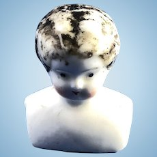 Vintage Small Porcelain Doll's Shoulder Head
