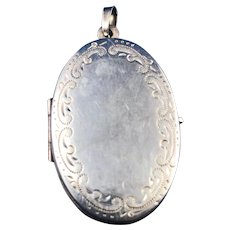 Vintage English Silver Locket