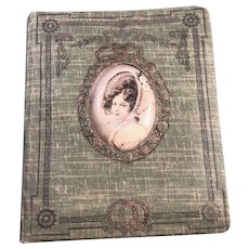 Cloth Covered French Address Book