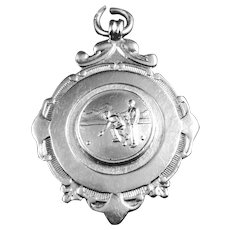 English Sterling Silver Charm