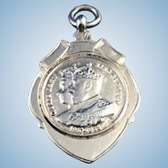 King George and Queen Mary Award Medal/Charm/Fob