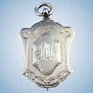 English Sterling Silver  Fob