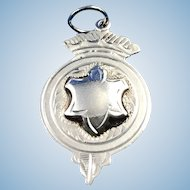 English Sterling Silver Medal/Fob