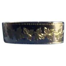 Vintage 9 Karat Gold Scarf Holder